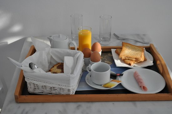 Casa Bianca: Breakfast