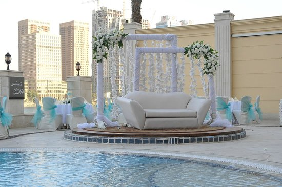 Hilton Cairo Zamalek Residences: palco