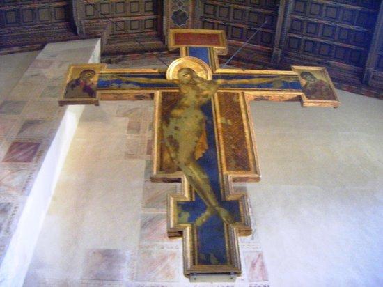 Basilica di Santa Croce: Crocifisso di Cimabue