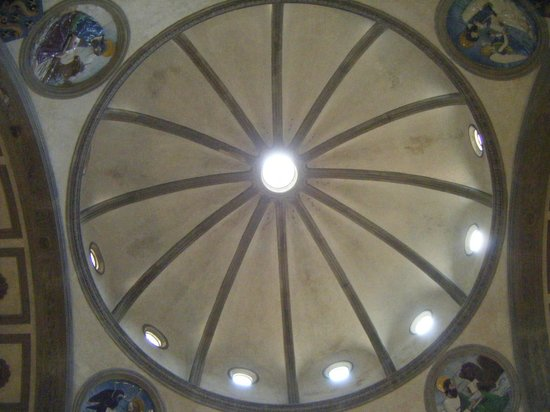 Basilica di Santa Croce: Cupola Cappella dei Pazzi