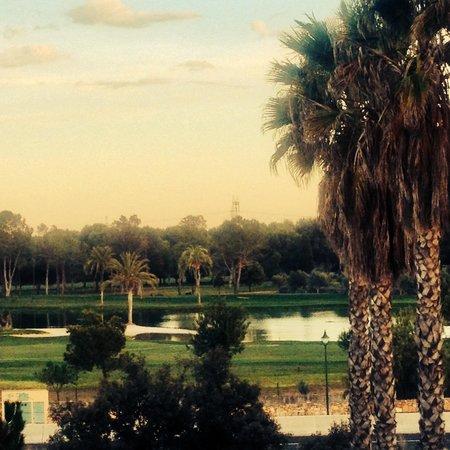 Ad Hoc Parque Hotel: Vistas al atardecer