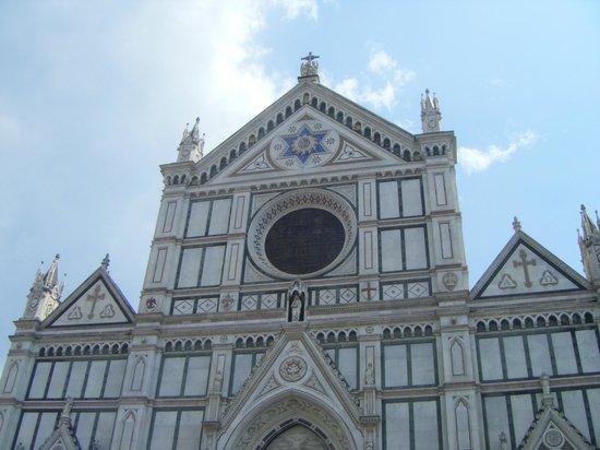 Basilica di Santa Croce: Facciata S. Croce