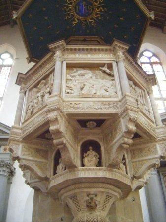 Basilica di Santa Croce: Pulpito S. Croce