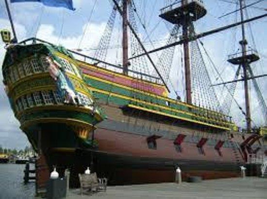 Museo Marítimo Nacional: The ship