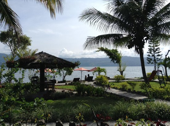 Samosir Cottages resort: View from our room