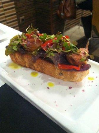 Restaurante Los Caballeros : tostada de verduras asadas