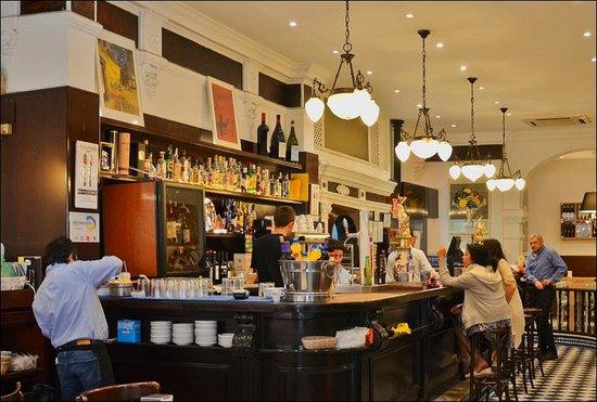 Bar Europa: интерьер