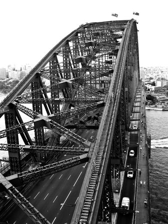 Pylon Lookout at Sydney Harbour Bridge: View of the Bridge