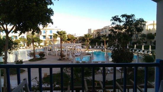 Pasadena Resort: our garden veiw