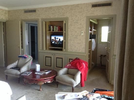 Le Mas Candille : chambre double deluxe