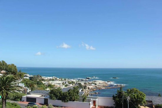 3 On Camps Bay Boutique Hotel: View from penthouse