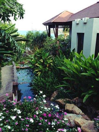 Nora Buri Resort & Spa : Hotelgelände, oberer Teil