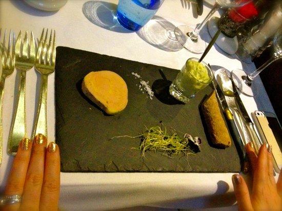 Hotel Restaurant Le Saint-Christophe: foie gras
