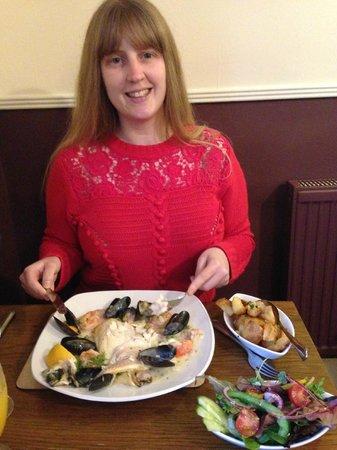 The Anchor Inn: Trio of fish dinner