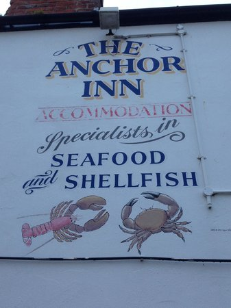 The Anchor Inn: Seafod galor and all fresh