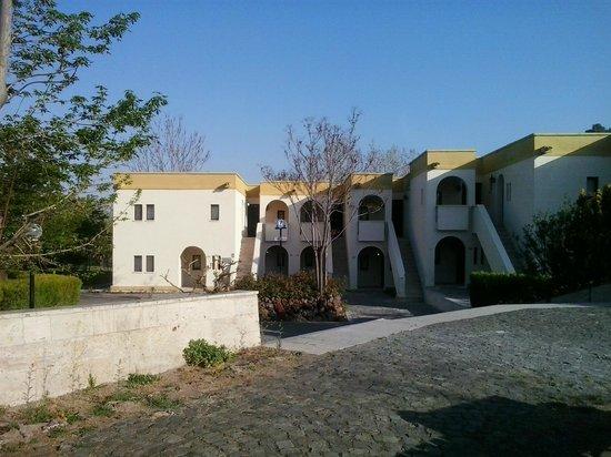 Turban Hotel Urgup : Kamers in verschillende blokken