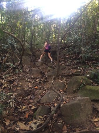 Amari Vogue Krabi: Nature walk, extremely challenging, not for everybody