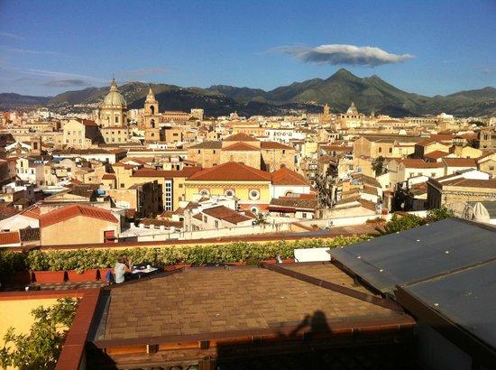 Ambasciatori Hotel: Terrass