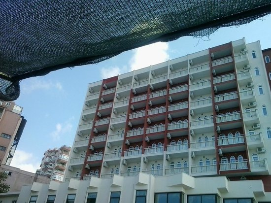 Nazar Beach Hotel : Niet al te groot hotel