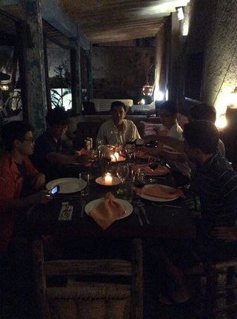 Posada Kanosta: Dinner 201404