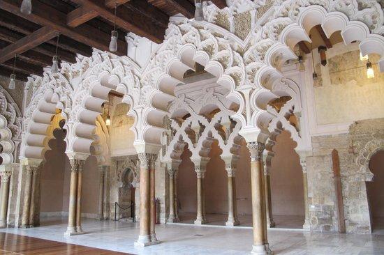 Palacio de la Aljafería: archi arabi