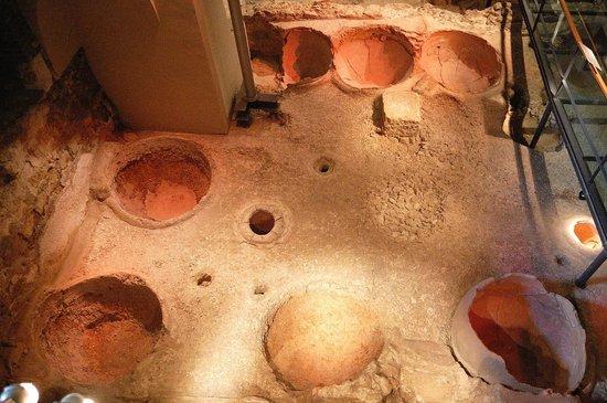Museu d'Historia de Barcelona - MUHBA : Instalación vinícola