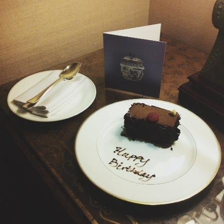 Birthday Amenities Picture Of Regent Singapore A Four