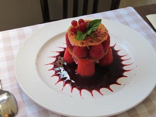 Au Bistronome: Fruits rouges