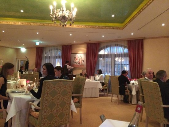 Restaurant Caroussel im Buelow Palais: the ambiance in the restaurant