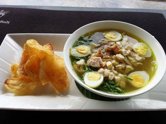 Viceroy Bali: Soto Ayam