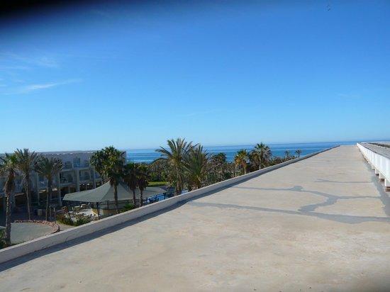 Cabogata Garden Hotel & Spa: uitzicht vanop terras