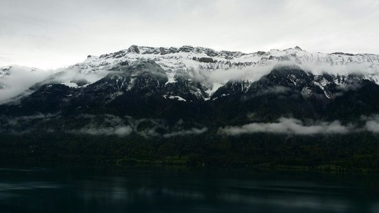 Hotel Brienzersee: A very cold day