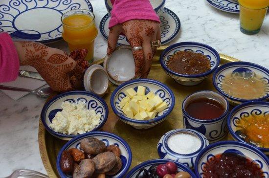 Riad Lune et Soleil: la colazione