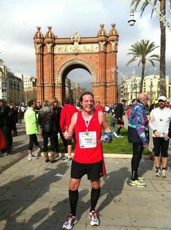 Arco del Triunfo (Arc del Triomf): Good place to finish a race
