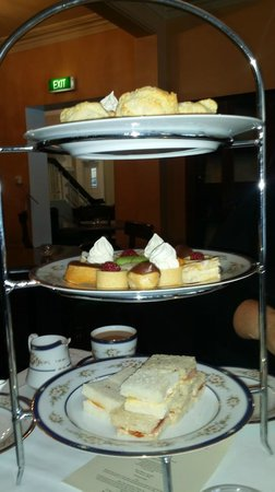 Hadley's Orient Hotel: High tea for three people