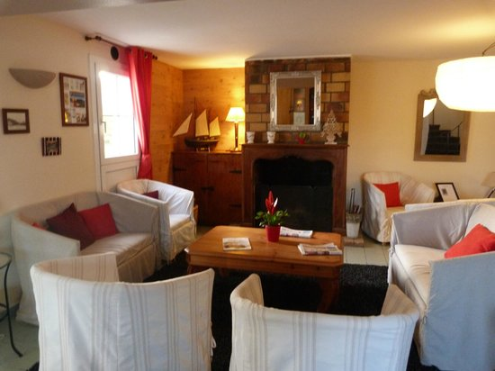 Hotel Le Clos Fleuri : Salon