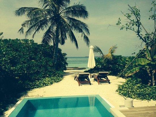 Velassaru Maldives : Pool beach villa
