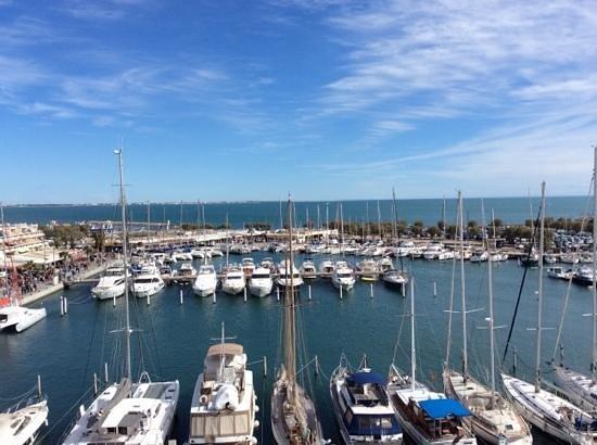 Mercure La Grande Motte Port: view from balcony