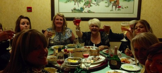 Jade Village : Plenty of smiles with our meals!!