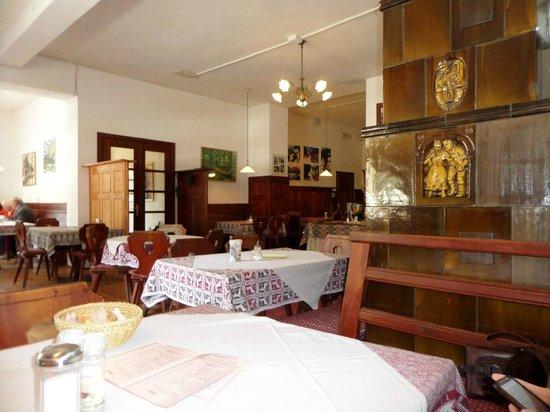 Hotel Pragser Wildsee: sala da pranzo