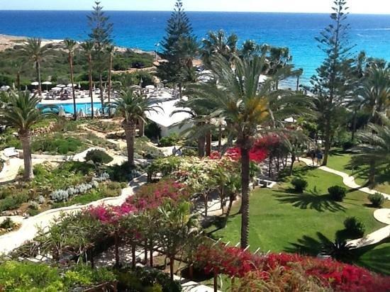Nissi Beach Resort: Blick vom Balkon des Nissi Beach Hotel