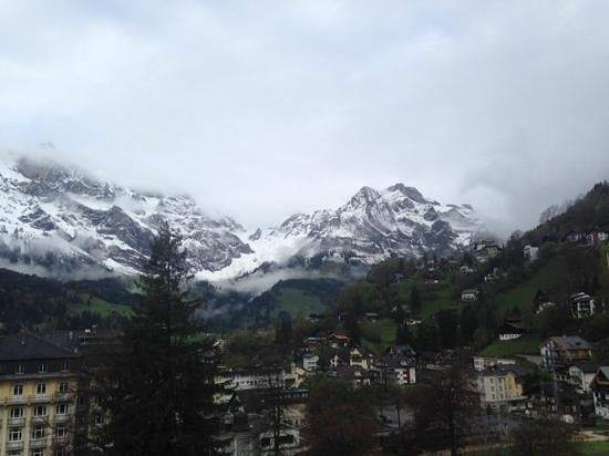 H+ Hotel & SPA Engelberg: view from window