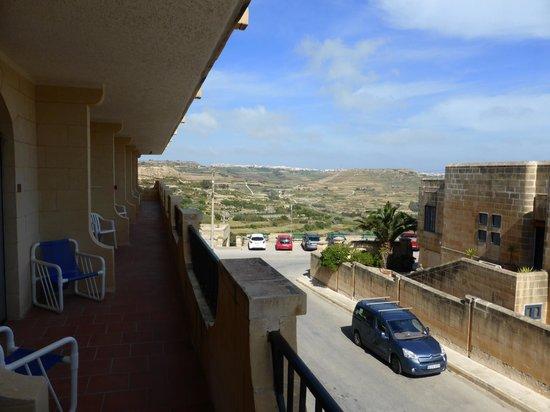 Cornucopia Hotel: Uitzicht kamer 30