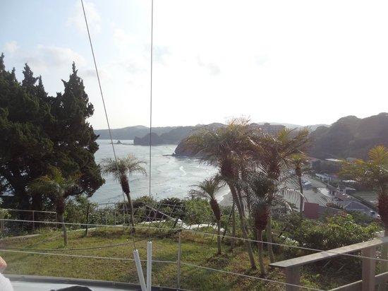 Shimoda Yamatokan: View from the Western-Style Onsen