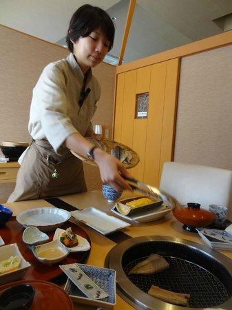 Shimoda Yamatokan: Food!