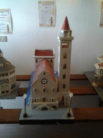 Monticchio Bagni, Italia: Plastico della Cattedrale di Trani, Abbazia di San Michele - Monticchio
