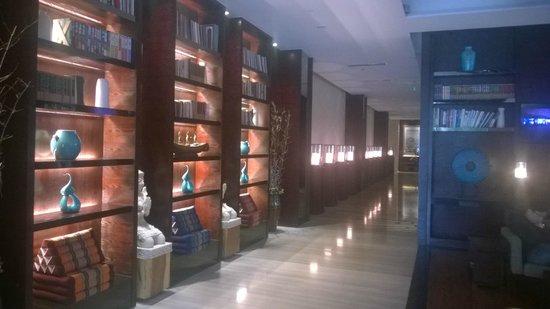 SSAW Boutique Hotel Shanghai Bund: Hall de l'hotel