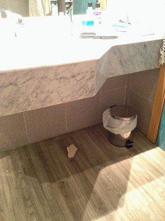 Sol Pelícanos Ocas: Se cayó de debajo del lavabo mientras dormíamos