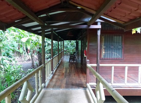 Pachira Lodge: Boardwalk to bedrooms