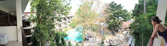 """Koh Tao Regal Resort: can you spot the pool from this """"room with pool view"""""""